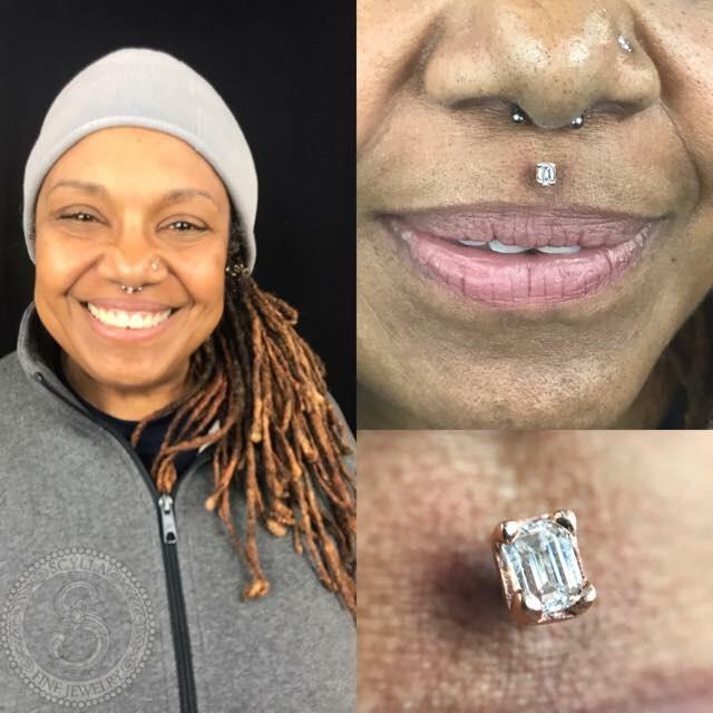 Custom Diamond Threadless End