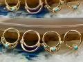 Custom Vintage-Salvage Line Rings