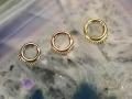 Hinged Beaded Rings